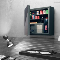Indel B FLYINGBAR Wall Mounted Minibar