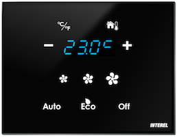 Interel Thermostat Control Panel