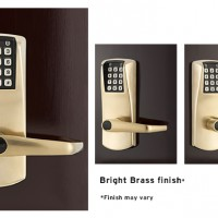 Ilco Oracode 660 Electronic Lock Bright Brass